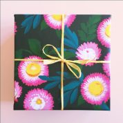 bright flowers wrap